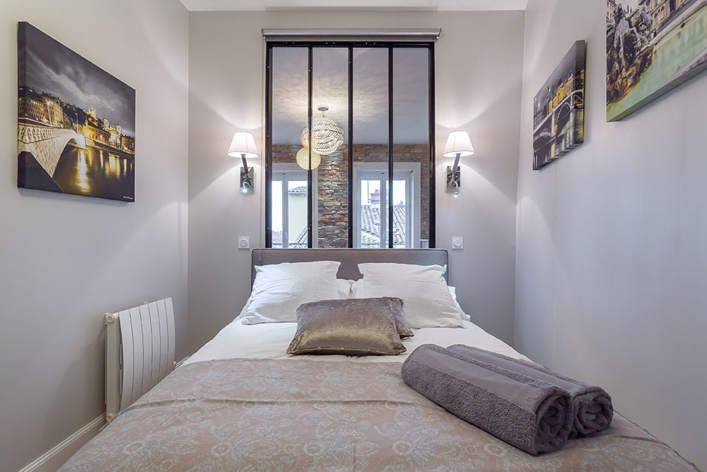Appartement Vieux Lyon chambre