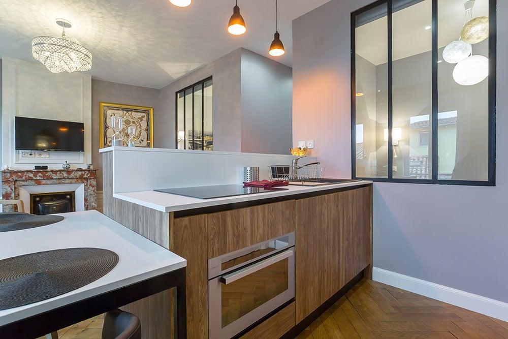 Appartement Vieux Lyon cuisine