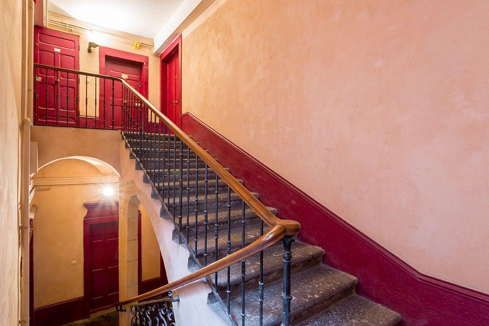 Vieux Lyon escaliers