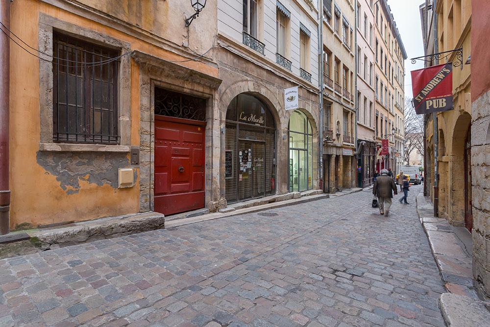 Vieux Lyon rues