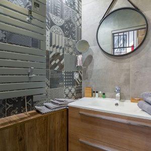 Vieux lyon 10 rue Mourguet salle d'eau